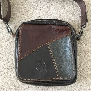 Genuine Leather crossbody bag / satchel